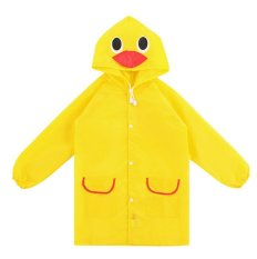 Jas Hujan Anak / Children Raincoat Cute Funny - Kuning