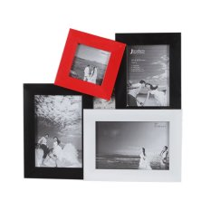 Jbrothers Mix Frame Red & White Series with Met Board - Tipe C