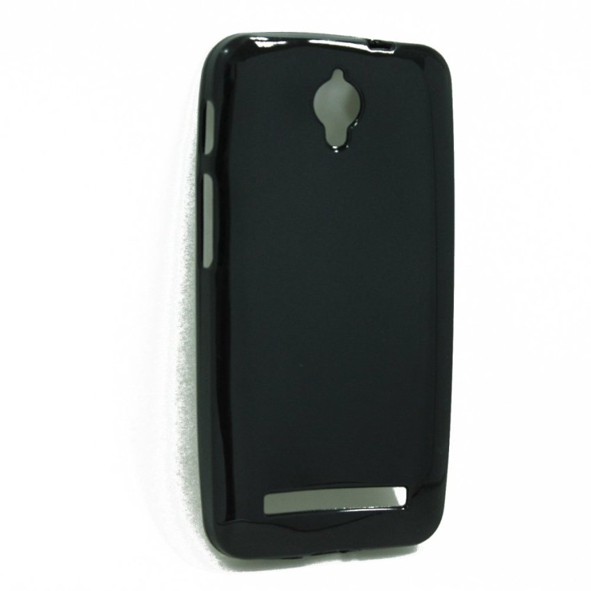 Jelly - AIUEO Jelly Case for Asus Zenfone C ZC451CG - Hitam