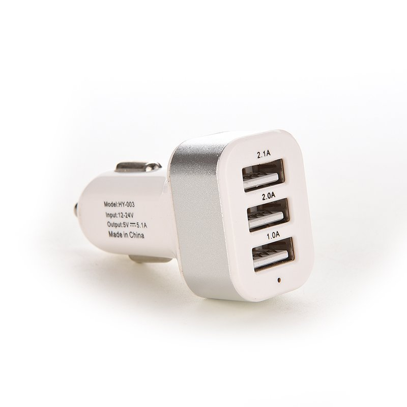 Jetting Buy Car Charger 12V Power Adapter For Samsung S5 iPhone Silver