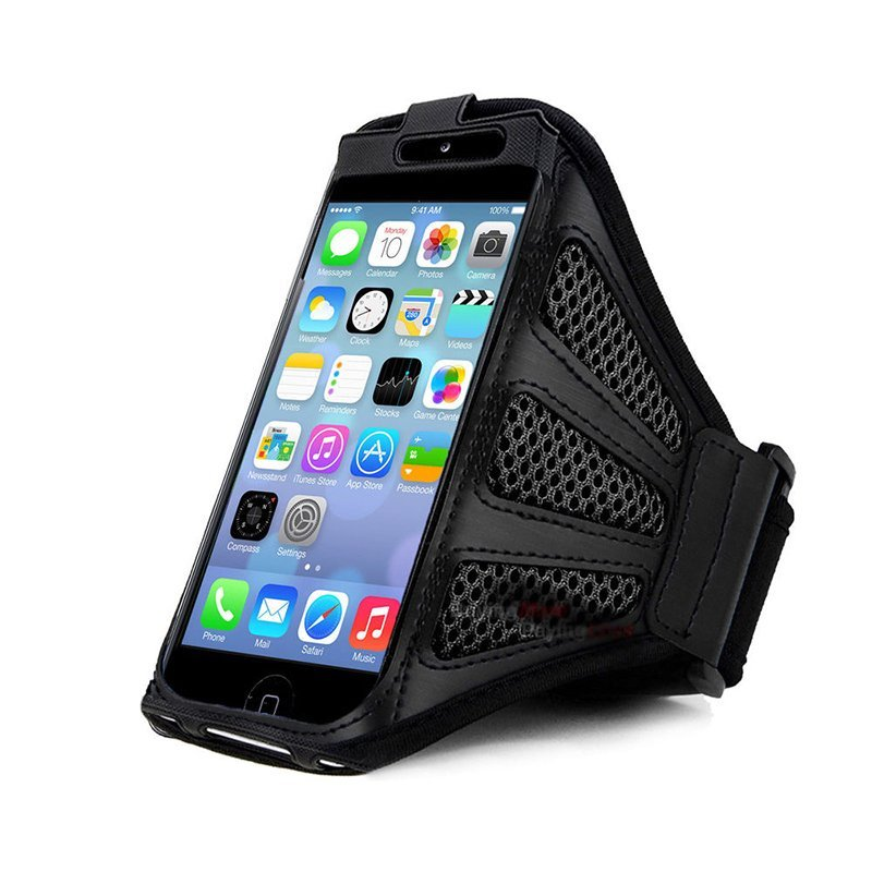 Jettingbuy Sports Armband Phone Case For iPhone 6 Black
