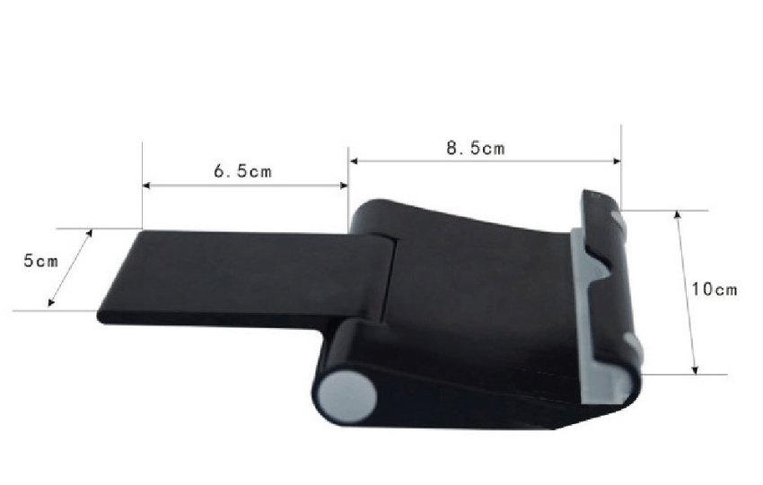 JIANGYUYAN Universal Cell Phone Tablet Pc Stand Holder Bracket (Black) (Intl)