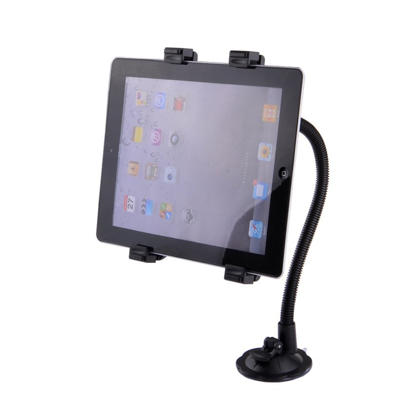 JOR 360 Degree Rotation Holder Mount Bracket with Suction Cup for 7---10-- Tablet PC (Black) (Intl)