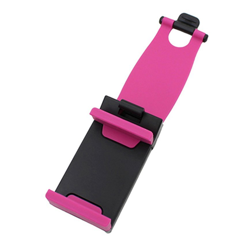 JOR Car Steering Wheel Bike Clip Holder for iPhone (Pink) (Intl)