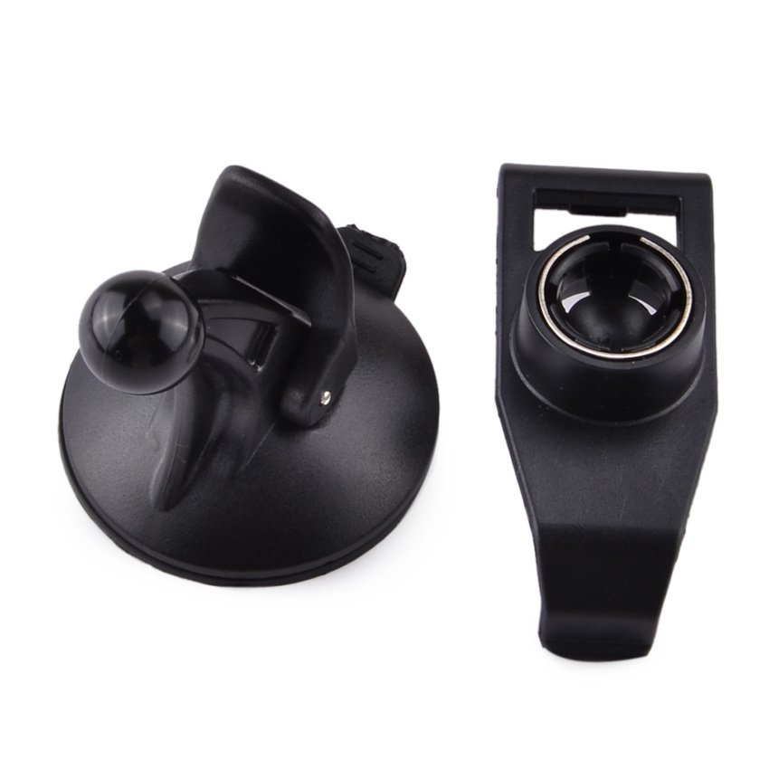 JOR GPS Suction Cup Holder Stand Mount for Garmin Nuvi 200 / 250 / 260 / 205 / 255 / 270 + More - Black (Intl)