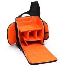 JoyliveCY Fashion SLR Sling Bag Camera Backpack Bag To Camera Brand Photography Camera Video Bag Photo SLR Sling Camera Bag (Orange) - Intl