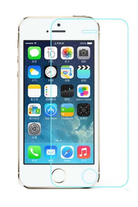 JustCreat 5 Pcs Toughened Glass Membrane Mobile Phone Screen Guard for Iphone6 4.7 (Intl)
