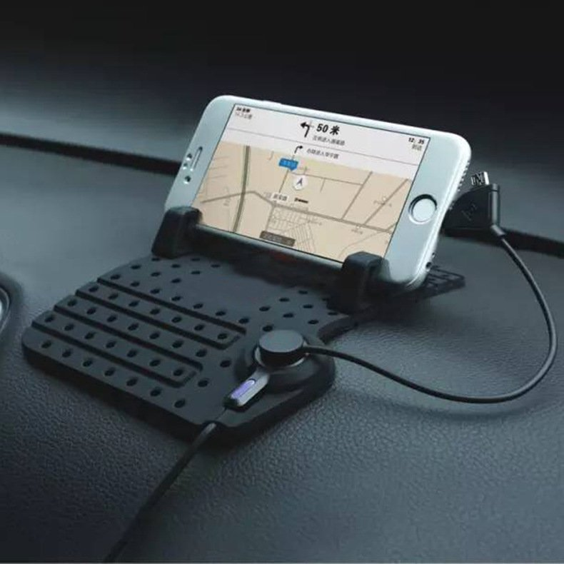 JustCreat Mobile Phone Support Holder Anti Slip Car Charging Stand (Intl)