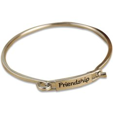 JustCreat Purism Alloy Plating Bracelets Friendship Bangles (Silver) (Intl)
