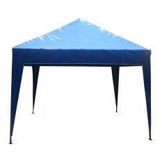 Keisha Karya Mandiri Daun Atap Tenda Cafe / Gazebo ukuran 2x2 Biru Polos