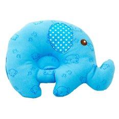 Kiddy Baby Pillow Gajah - Bantal Peyang Biru