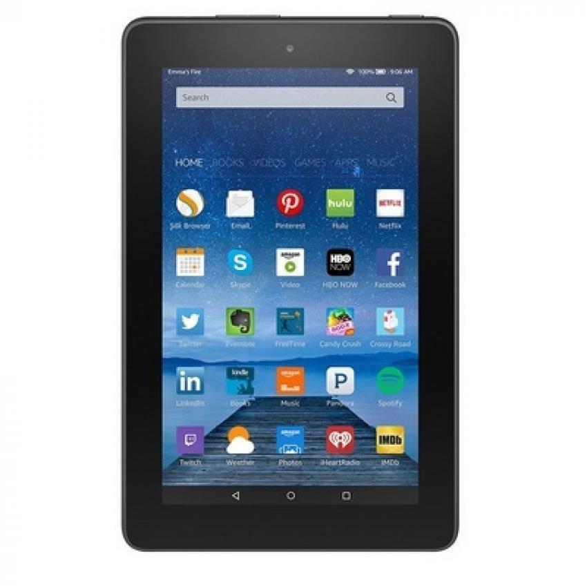 Kindle Tablet Amazon Fire 7'' Display Wifi - 8GB - Hitam