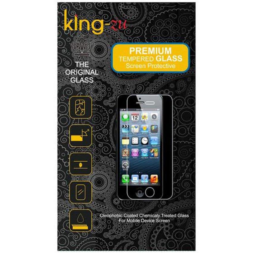 King-Zu Tempered Glass Untuk OPPO Find 5 Mini / R827 - Premium Tempered Glass - Anti Gores - Screen Protector
