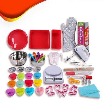 Kitchen tools 48 pieces home diy baking set intl for Kitchen set lampung