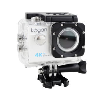 Kogan Action Camera 4K+ UltraHD - 16MP - Putih - WIFI
