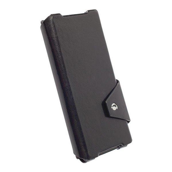 Krusell Kalmar Flip Wallet Case Sony Xperia Z2 Hitam