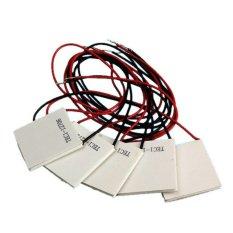KUNPENG 5Pcs 12.5.8A TEC1-12706 Heatsink Thermoelectric Cooler PeltierCool Plate - Intl