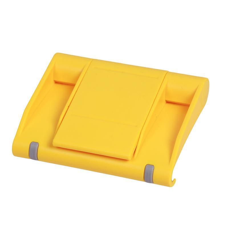 LALANG Universal Adjustable Foldable Desk Tablet Mobile Phone Stand Holder (Yellow) (Intl)