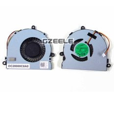 Laptop CPU Fan Cooling Fan For DELL Inspiron 15.352.372.5521 553.5721 Laptop CPU Cooling Fan Cooler Silver (Intl)