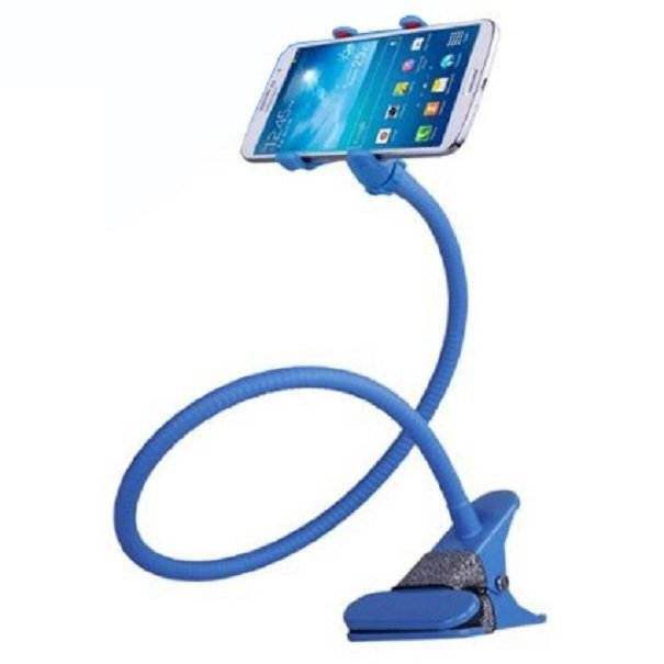 Lazy Mobile Phone Monopod - Tripod-8-1 - Biru