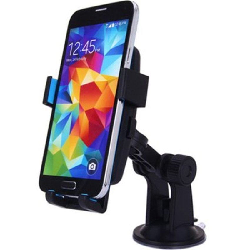 Lazy Tripod Car Mount Holder for Smartphone - WF-361 - Black