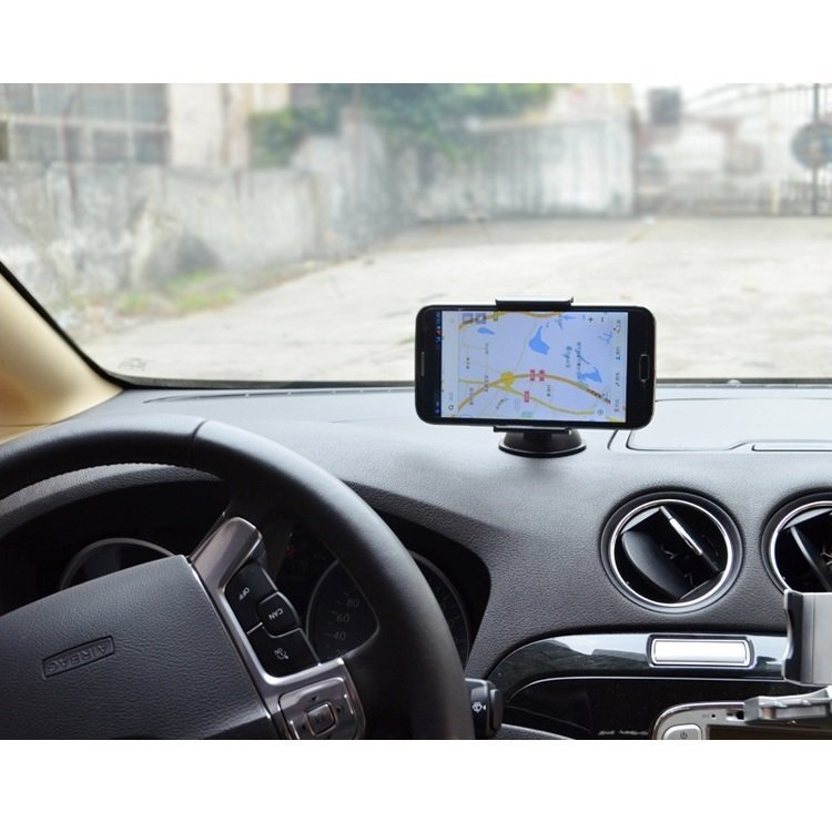 Lazypod Tripod Car Mount Holder for Smartphone - WF-219 - Hitam