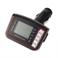 LCD Car MP3 Player Wireless FM Transmitter USB SD TF Card + Remote Control