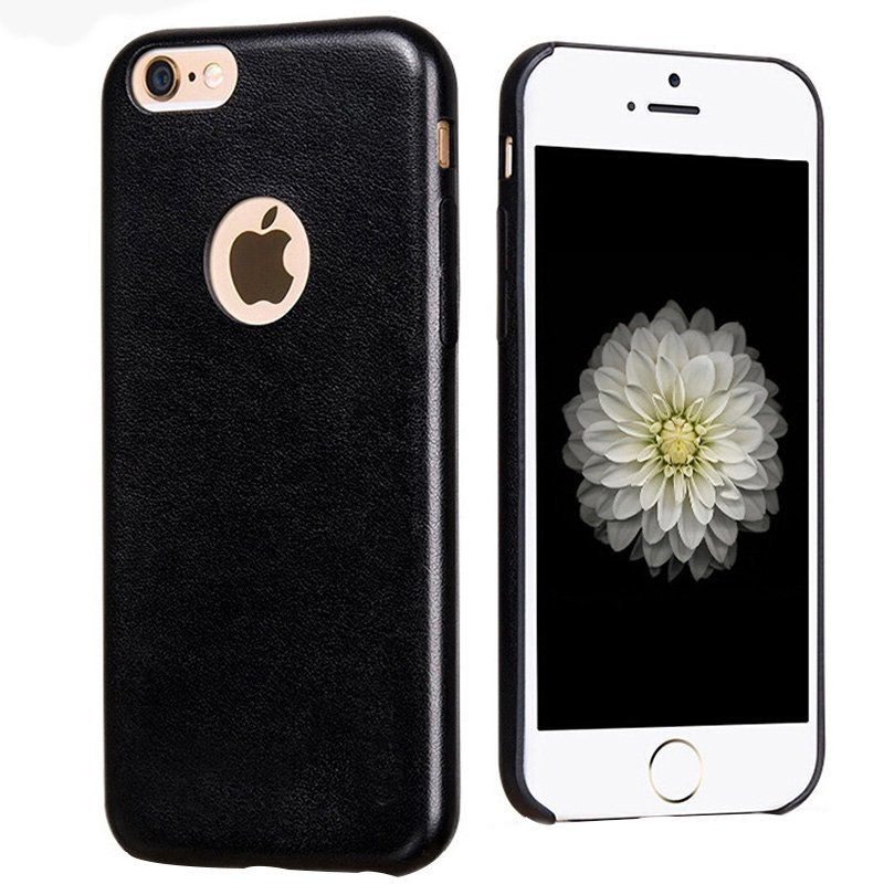 Leather Case for iPhone 6 plus / 6S plus black (Intl)