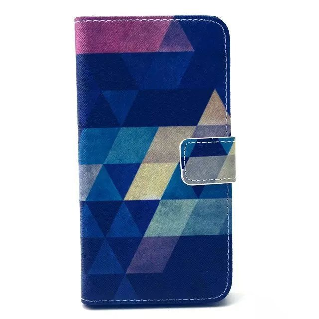 Leather Cell Case with Card Holder for Samsung Galaxy S6 (Multicolor)