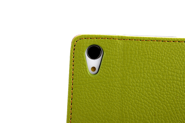 Leather Cover for Sony Xperia Z1 L39H (Green) (Intl)