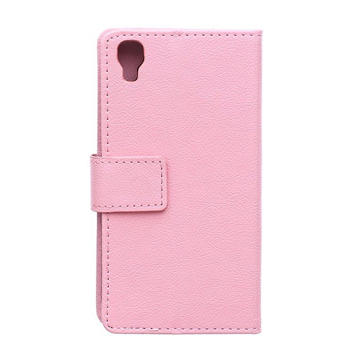 Leather Flip Case With Card Slot for Alcatel I Dol 3 4.7