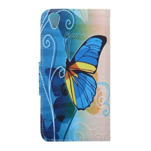 Leather Horizontal Flip Butterfly Cover for OnePlus X (Multicolor) (Intl)