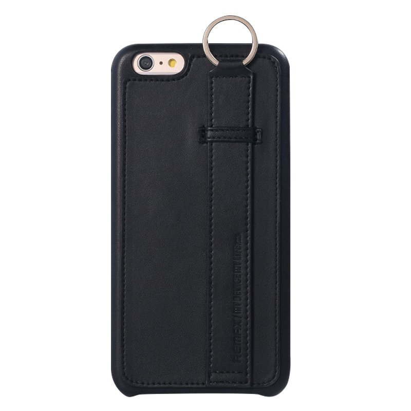 Leather Mobile Phone Case for iPhone 6/6S Black (Intl)