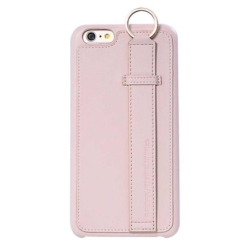 Leather Mobile Phone Case for iPhone 6/6S White (Intl)