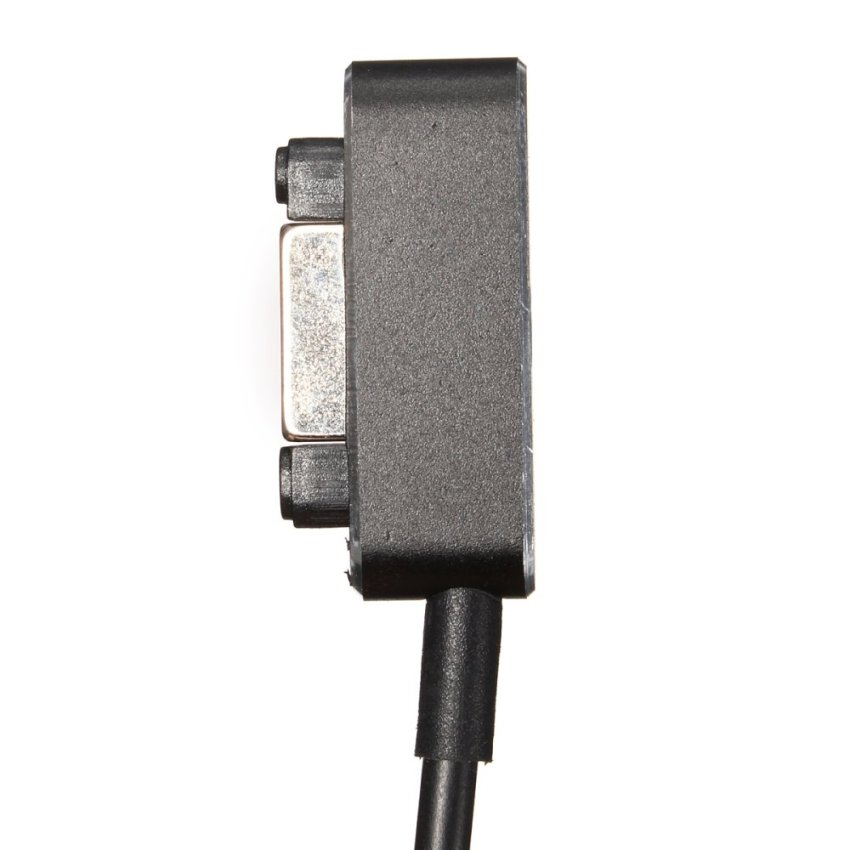 LED Aluminum Metal Magnetic Charger Cable For Sony Xperia Z1 Z2 Z3 Compact Black (Intl)