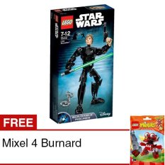 LEGO Constraction Star Wars - Luke Skywalker + Free Mixel 4 Burnard