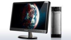 """Lenovo Desktop PC H530s - 19.5"""" LED - i3-4150 3.5 Ghz - 4GB RAM - 1 Tera - DVD-RW - Dos -  Hitam"""