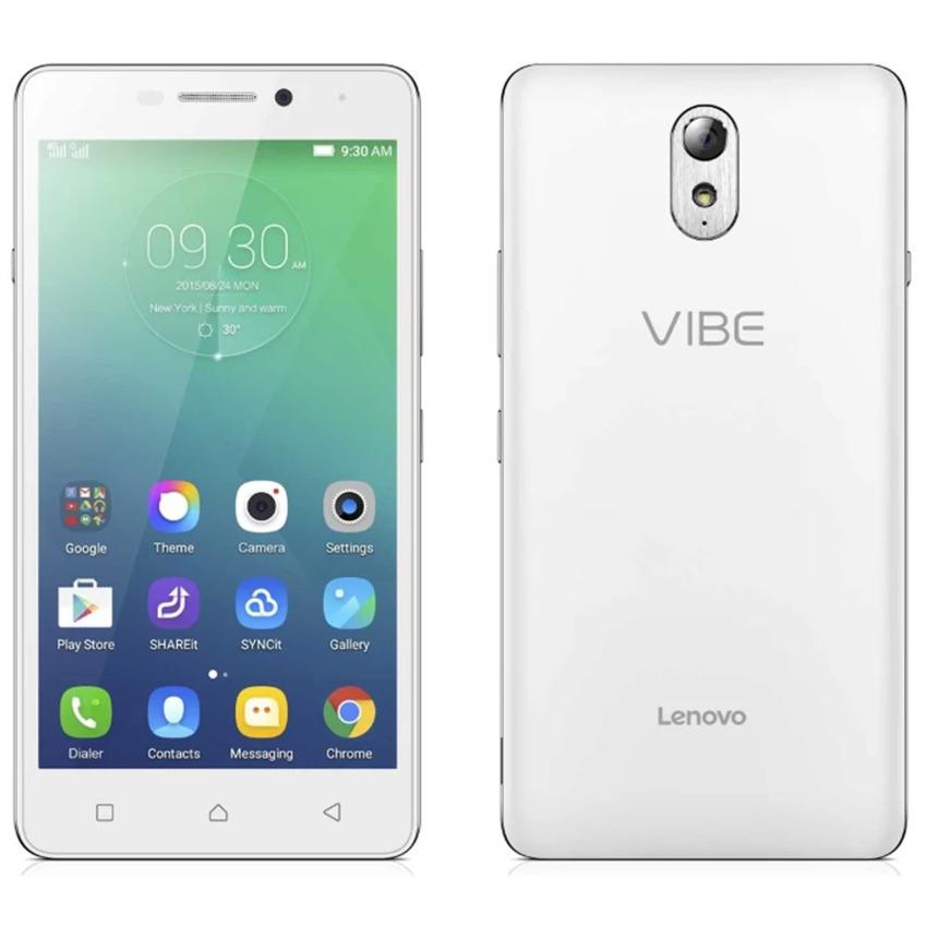 Lenovo Vibe P1m - 16 GB - RAM 2GB - LTE - 4000Mah - Putih