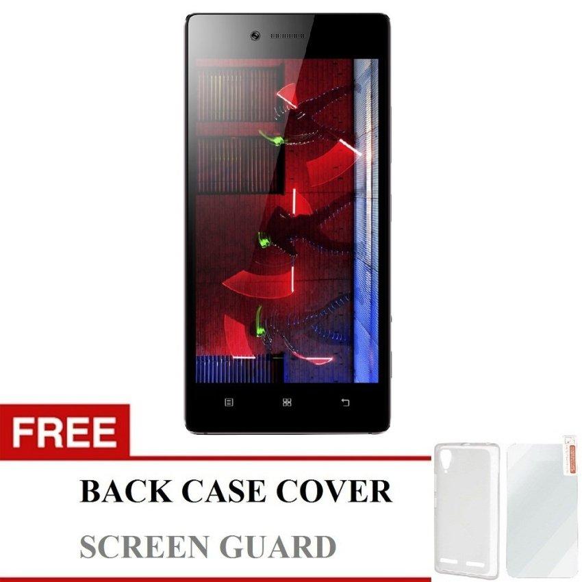 Lenovo Vibe Shot Dual SIM - 32 GB - Abu-Abu + Bonus Back Cover & Screen Guard