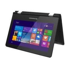 "Lenovo Yoga 300 - 11.6"" Touchscreen - Intel N3050 - 4GB RAM - Win 10 - Hitam"