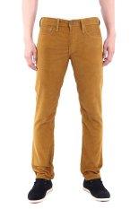 Levi's 511™ Slim Fit Water Repellant Corduroy Pants Bronze Brown - Cokelat