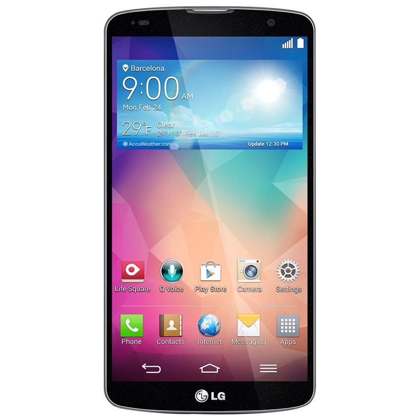 LG G Pro 2 - 16GB - Hitam + Free Quick Window Cover