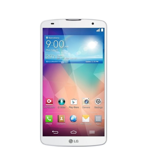 LG G Pro 2 - 16GB - Putih + Free Quick Window Cover