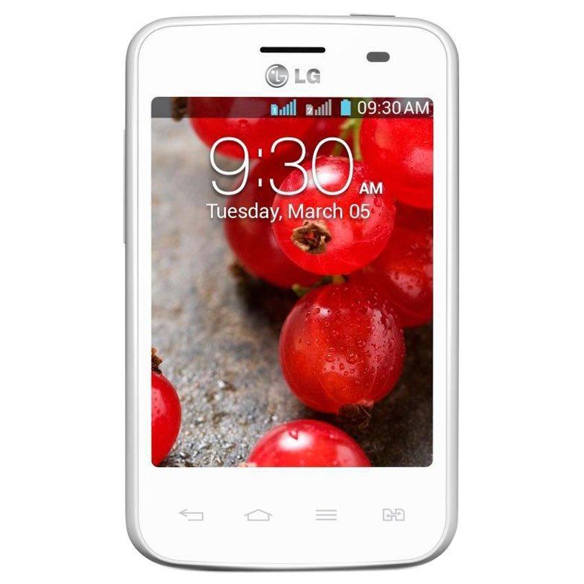LG Optimus L3ii Dual E435 - 4 GB - Putih