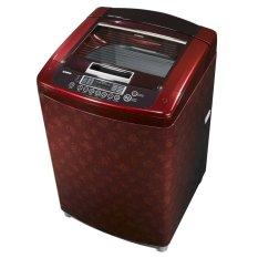 LG TS14CR - Mesin Cuci Top Loading - 14Kg - Merah - Khusus JABODETABEK