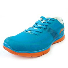 Li-ning Sepatu Lari ARBJ075-2 BL/RD - Biru