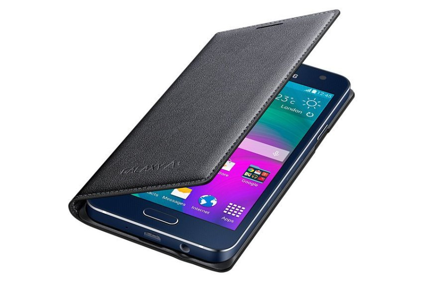 Limited Samsung Galaxy A7 / A710 2016 Flip Wallet Cover - Hitam + Gratis Tempered Glass