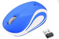 Logitech Mini Wireless Mouse M187 - Biru