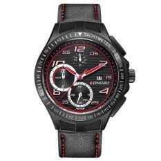 LONGBO Luxury Men Genuine Leather Sports Quartz Watches Men Male Leisure Clock Military Watch 80200