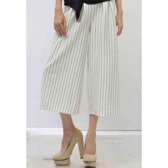 Lou Lou The LabeL - White Striped Culotte